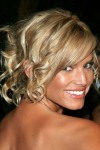 Jessica-Simpson-Mid-Length-Curly-Updo