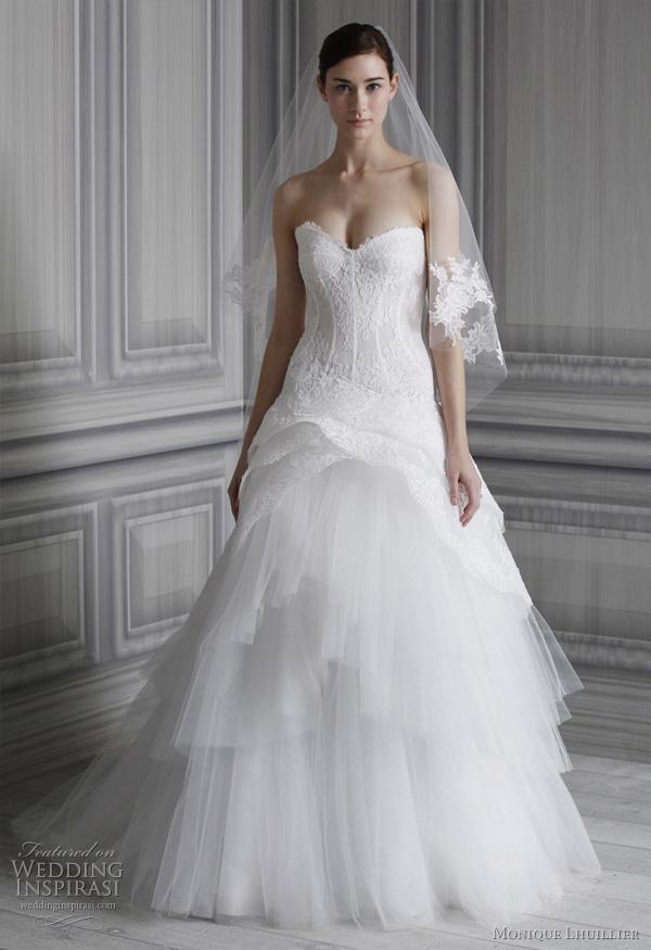 monique lhuillier 2012 pauline wedding dress?w600 - Gelinlik Modelleri