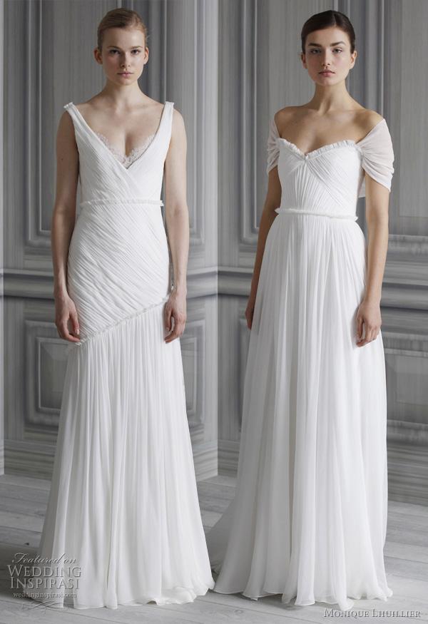 monique lhuillier bridal 2012?w600 - Gelinlik Modelleri