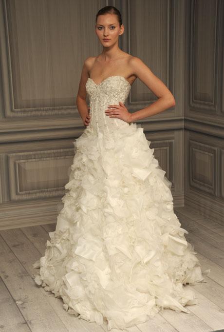 monique lhuillier bridal spring 2012 12?w460 - Gelinlik Modelleri