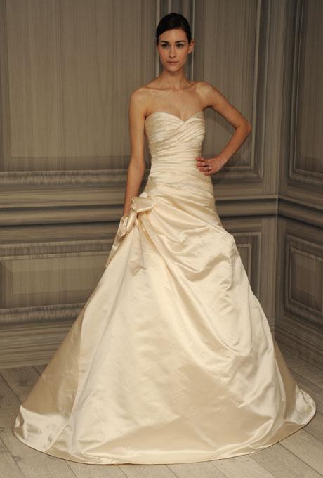 monique lhuillier bridal spring 2012 20 1?w460 - Gelinlik Modelleri