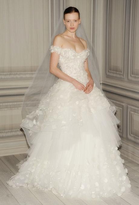 monique lhuillier bridal spring 2012 71?w460 - Gelinlik Modelleri