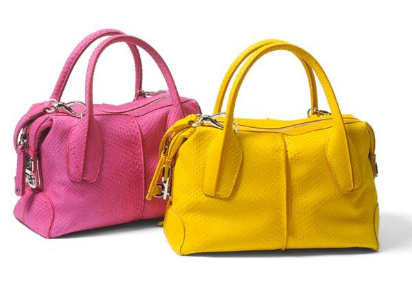 В новом сезоне представлены сумки, обувь, аксессуары, очки и чемоданы.