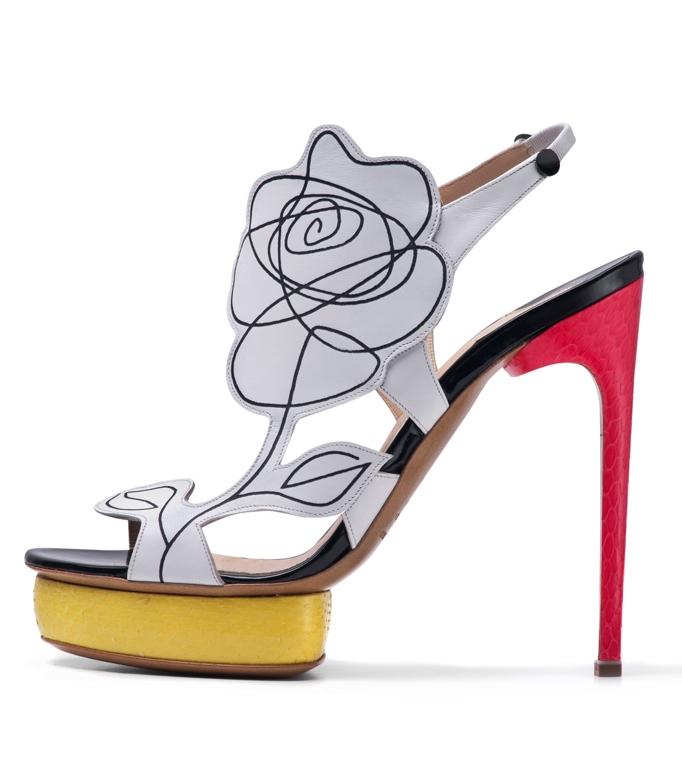 Nicholas kirkwood 2012 ilkbahar yaz ayakkabi modelleri 1