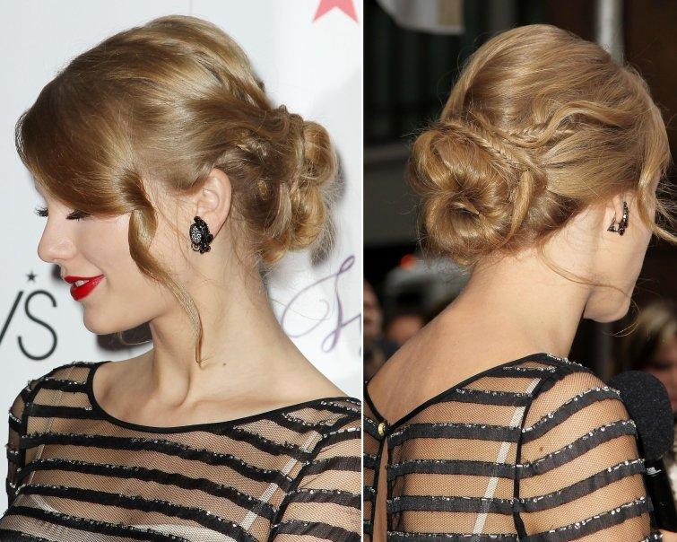 Taylor Swift Updo Hairstyle Modakanali