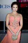 Demi Lovato wore a Marchesa Resort 2012 2