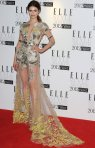 tali-lennox-2012-elle-style-awards Julien Macdonald SpringSummer 2012 collection.