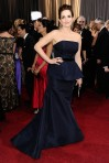 Tina Fey wore a custom Carolina Herrera