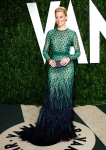 Actress Elizabeth Banks arrives at the 2012 Vanity Fair Oscar party in West Hollywood