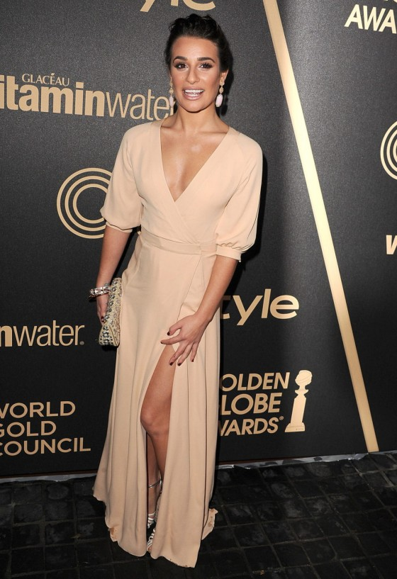 Lea Michele - InStyle Miss Golden Globe Party -02-560x817