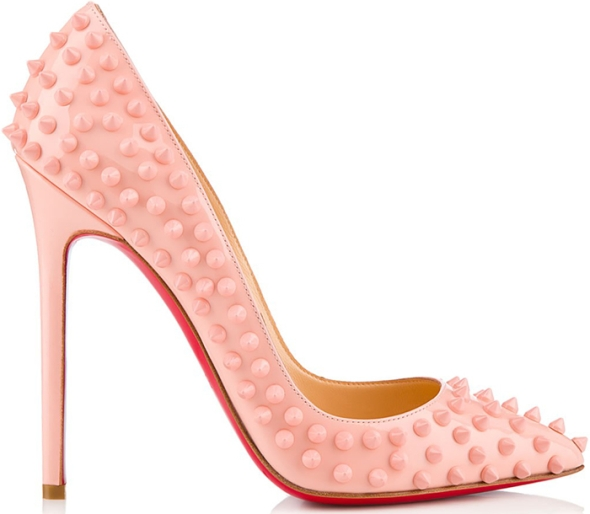 Christian-Louboutin-Pigalle-Spikes-baby-pink-Spring-2013
