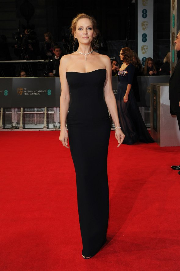 Uma-Thurman-2014-BAFTA-Awards